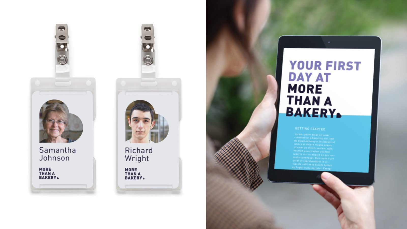 An Identity for the More Than A Bakery By Bullhorn Creative