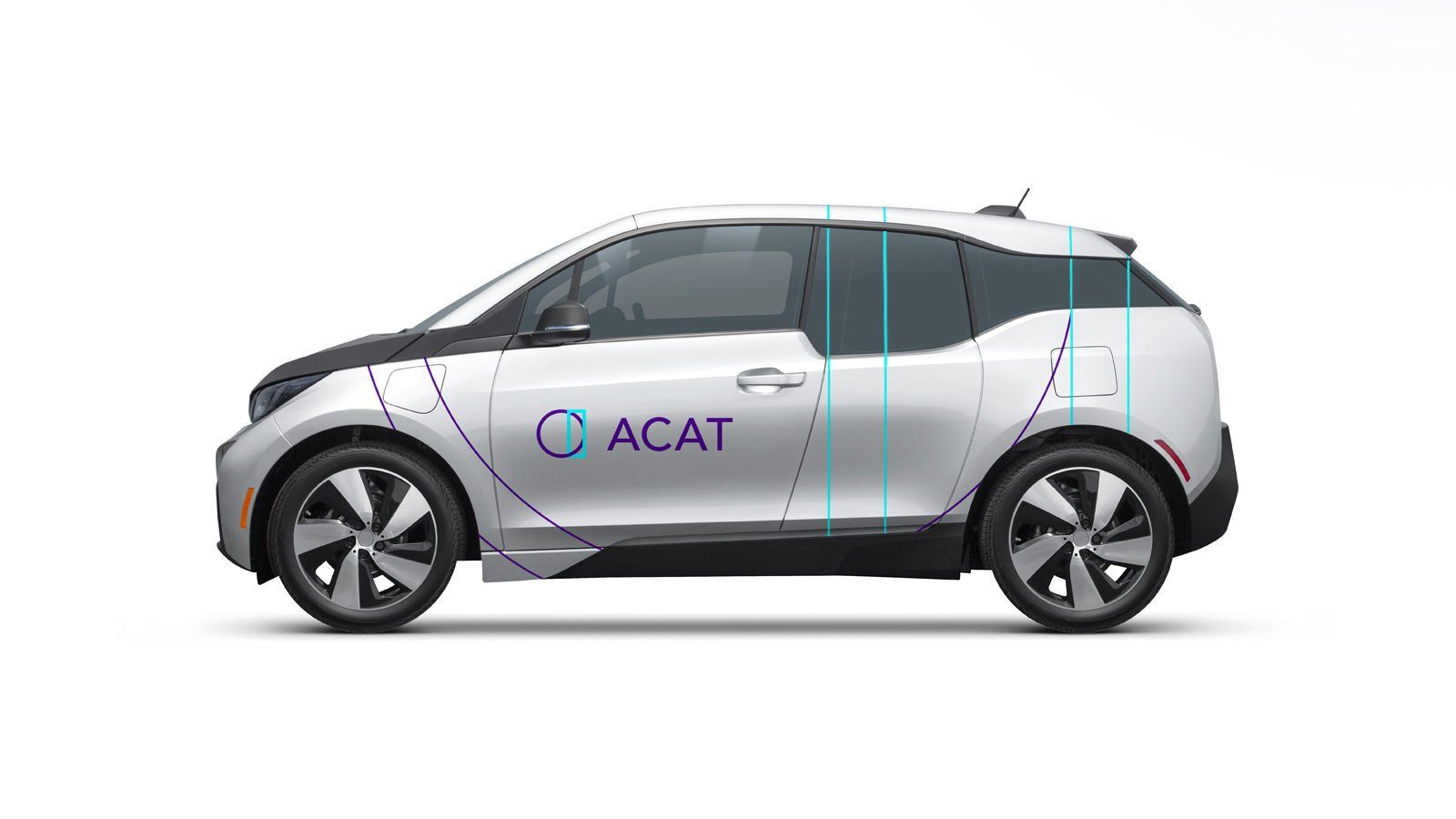 ACAT Wellness Brand Identity Car by Bullhorn Creative