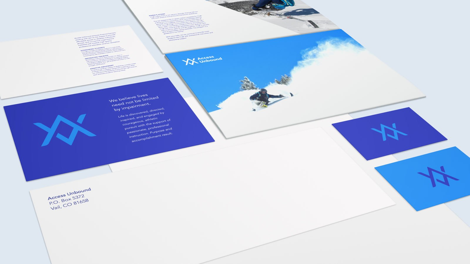 An Identity for Access Unbound By Bullhorn Creative
