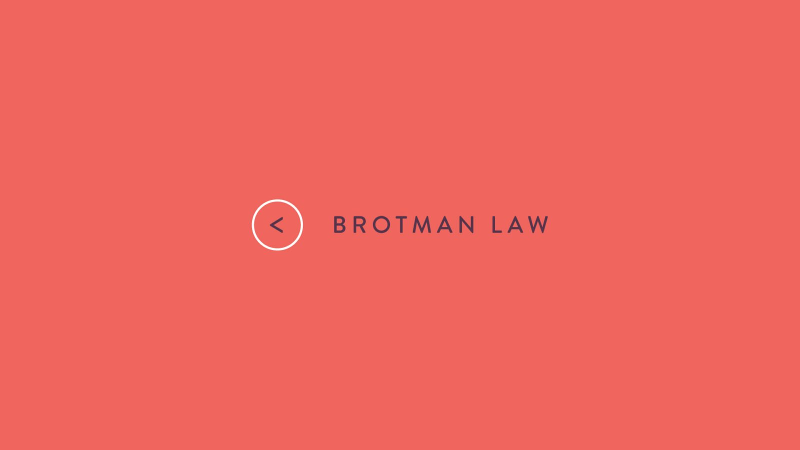 An Identity for Brotman Law By Bullhorn Creative