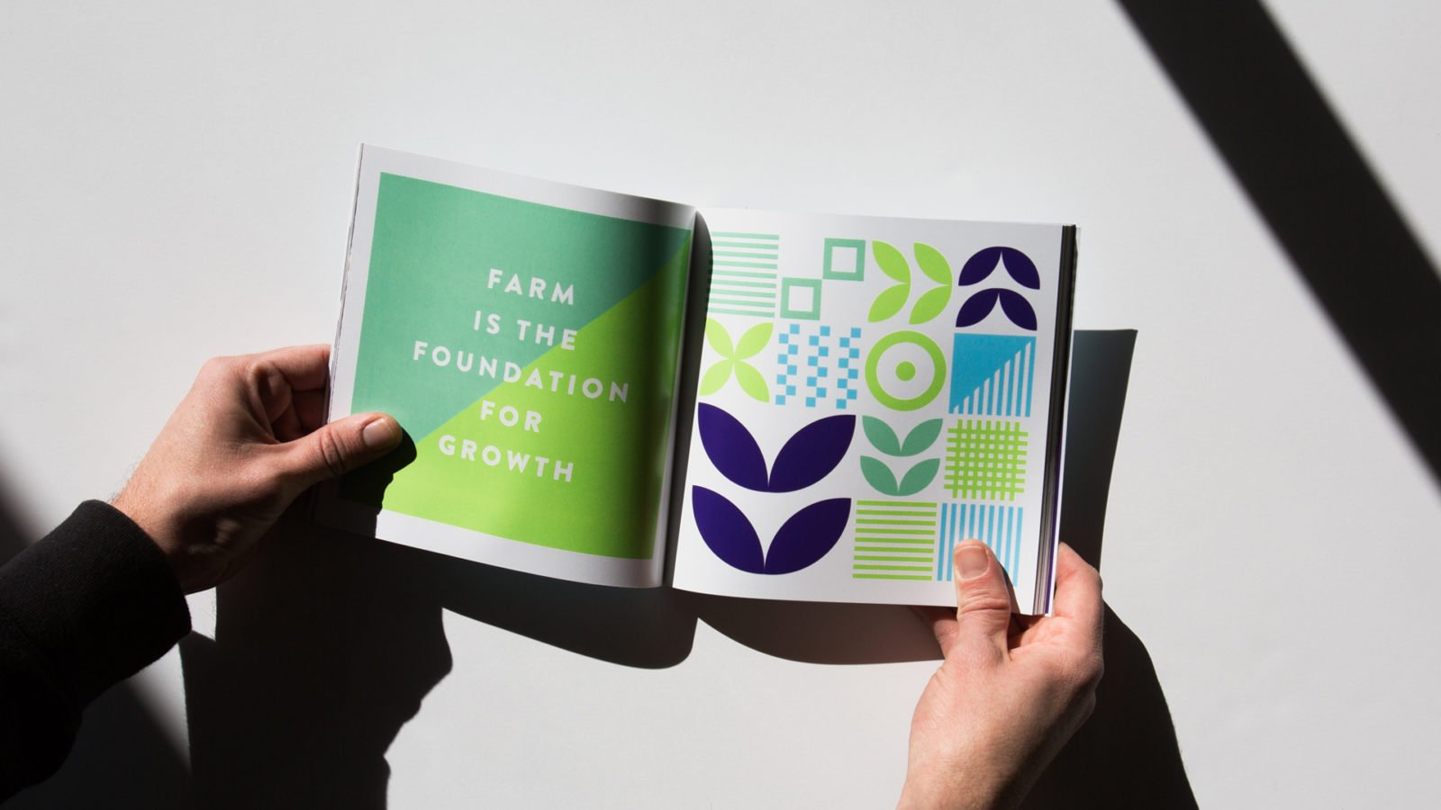 A Brand Identity for the Community Farm Alliance by Bullhorn Creative