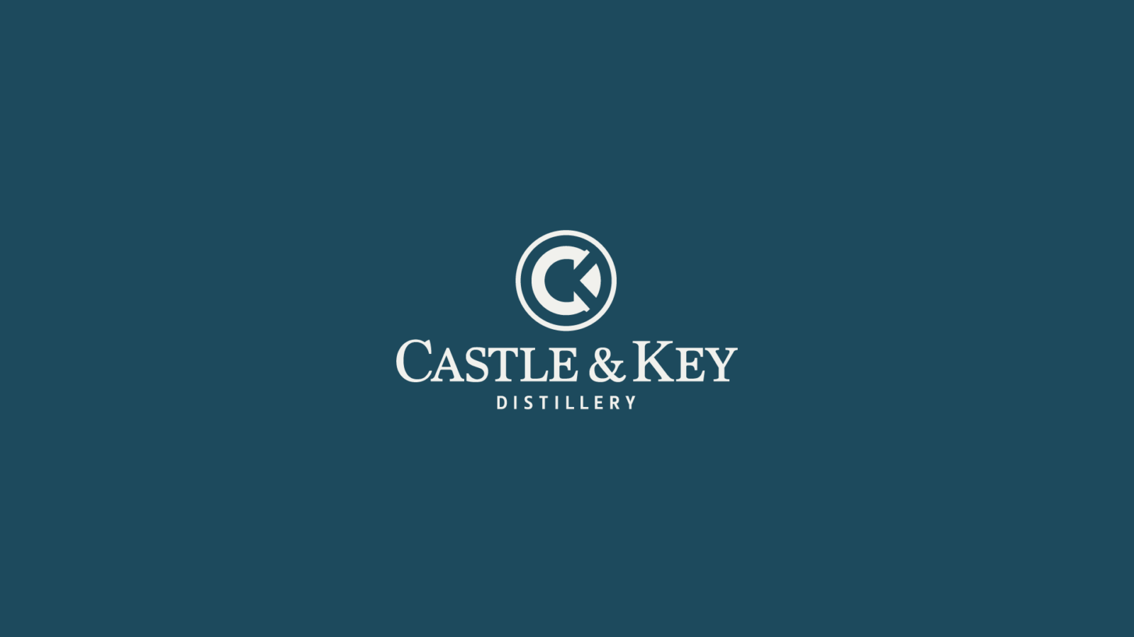 Castle & Key Distillery Visual Identity refinement