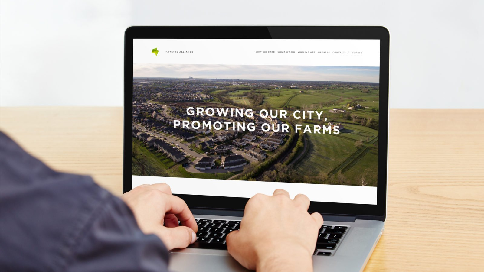 An Identity for the Fayette Alliance By Bullhorn Creative