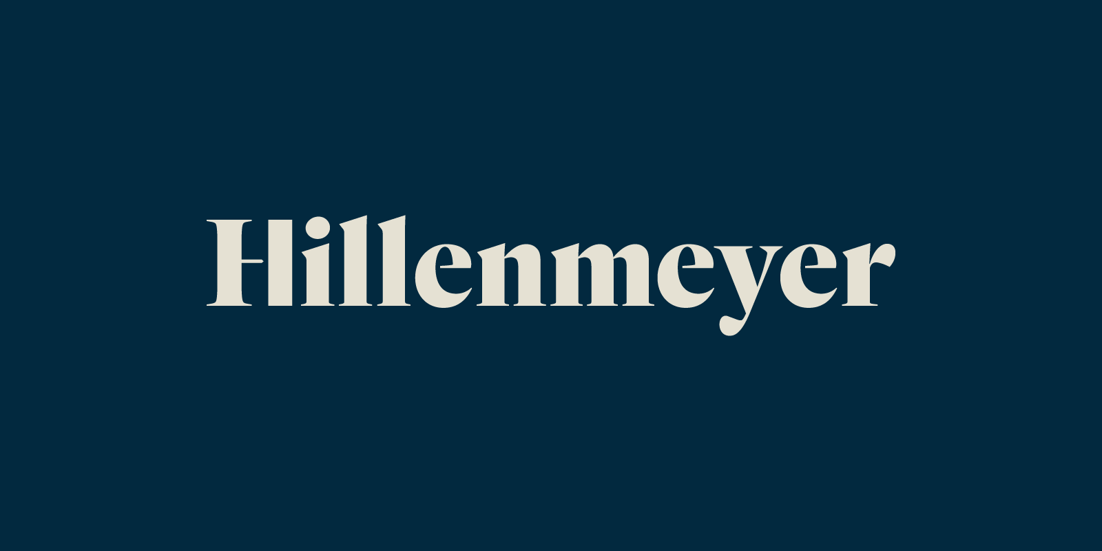 Brand Identity for Hillenmeyer Landscaping By Bullhorn Creative