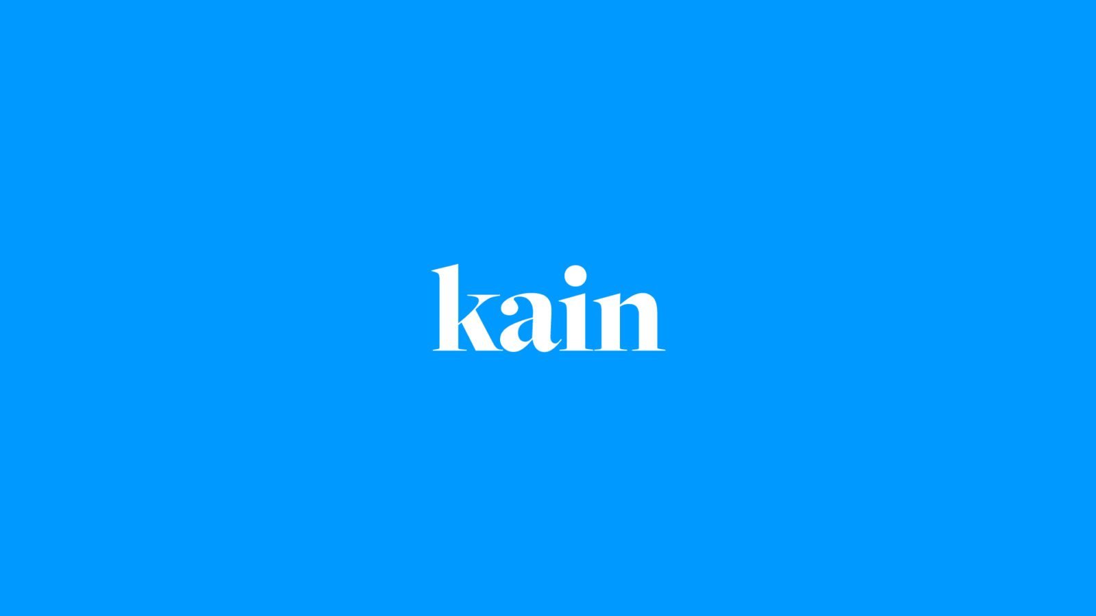 An Identity for Kain Automotive By Bullhorn Creative