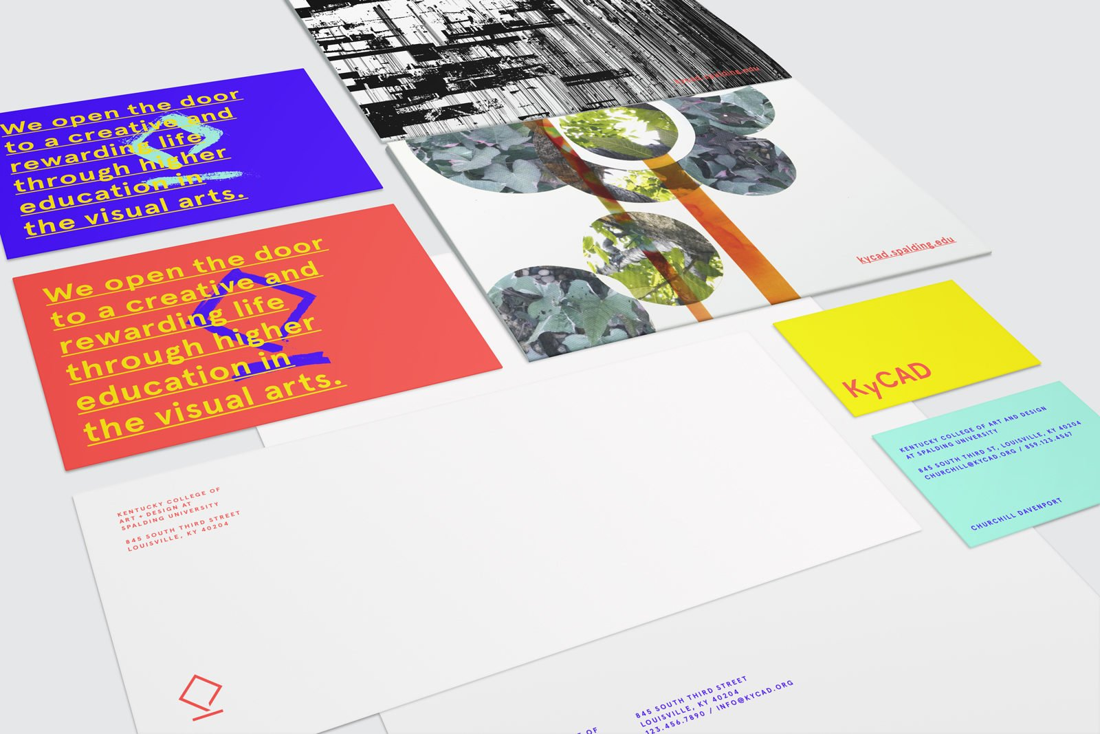 A Brand Identity for Kentucky College of Art and Design by Bullhorn Creative