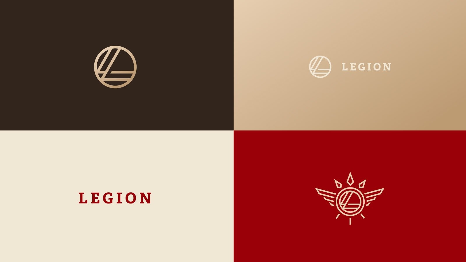 An Identity for Legion Logistics By Bullhorn Creative