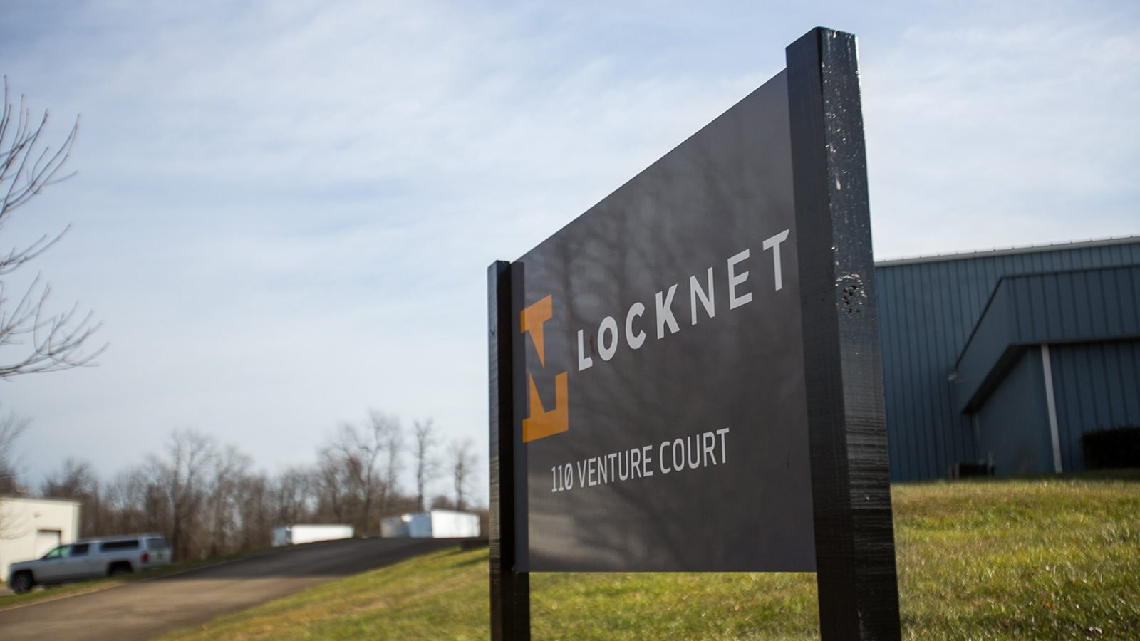An Identity for Locknet By Bullhorn Creative