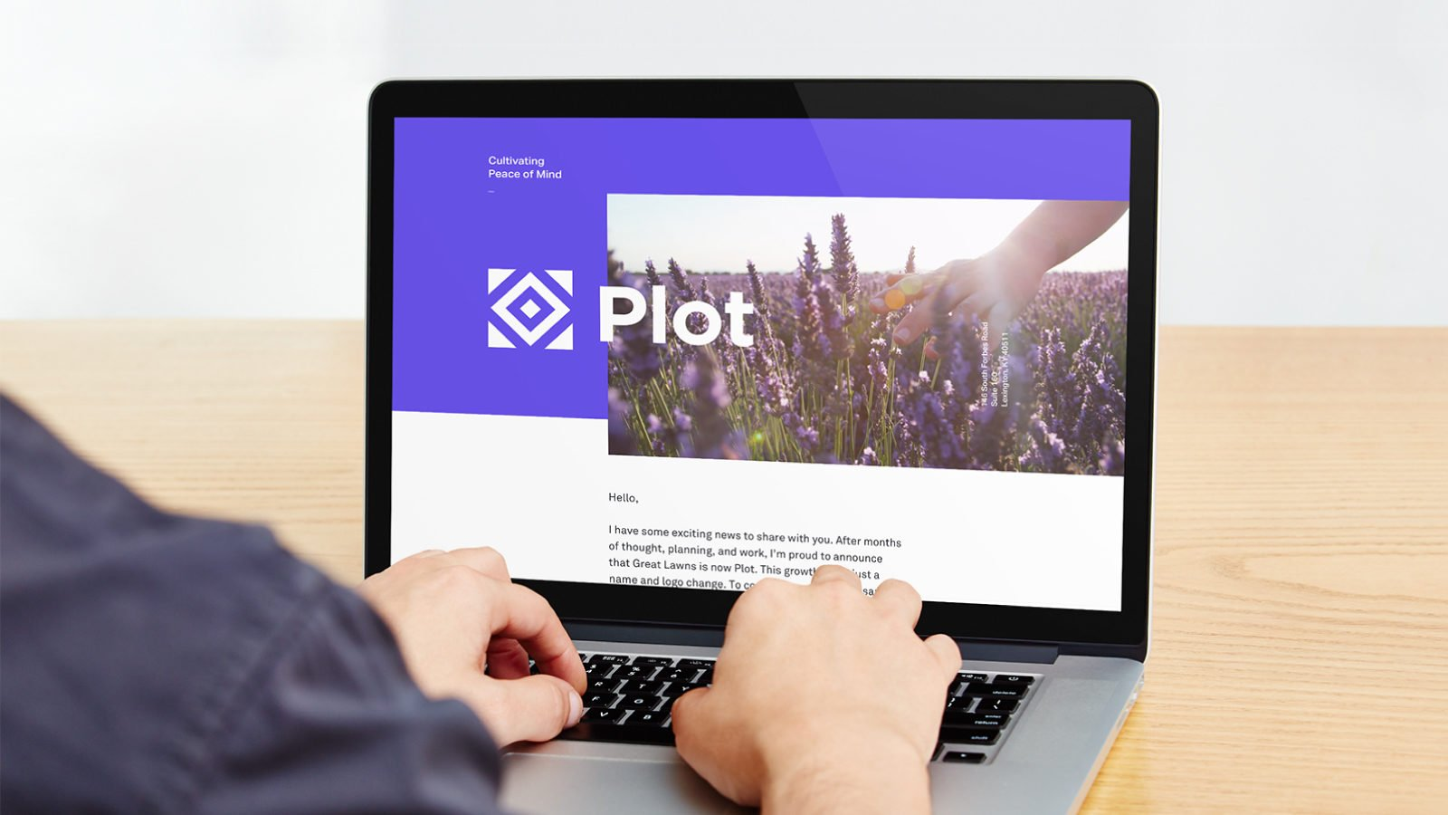 A Brand Identity for Plot Landscaping by Bullhorn Creative