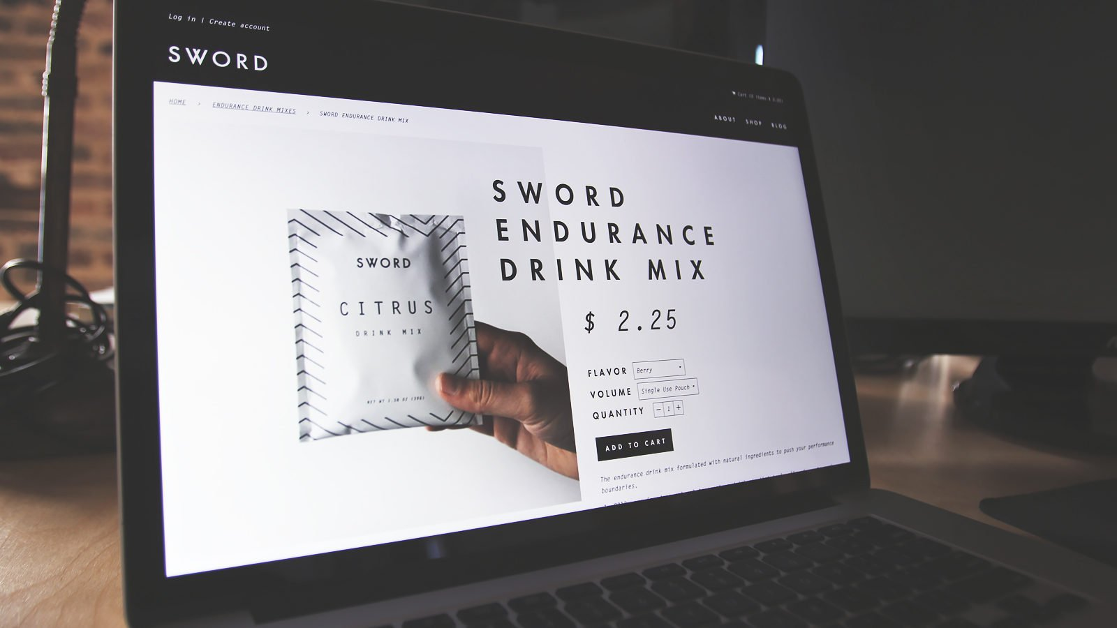 A Brand Identity for Sword Performance by Bullhorn Creative