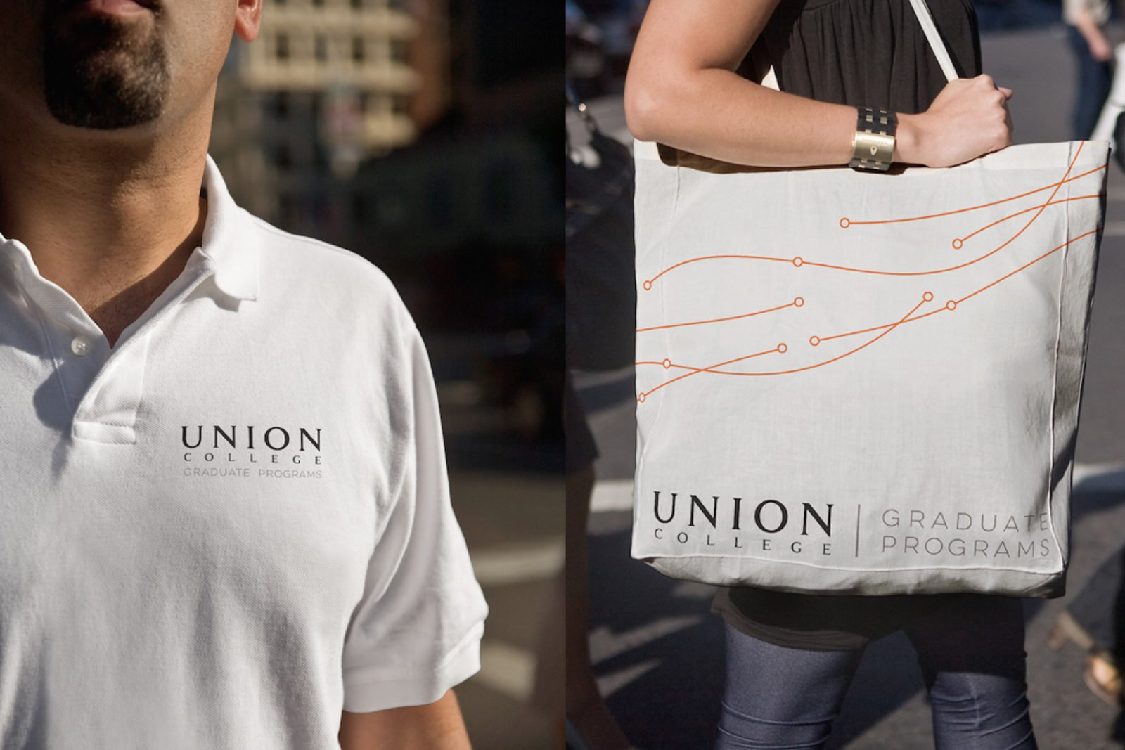 A Brand Identity for Union College by Bullhorn Creative