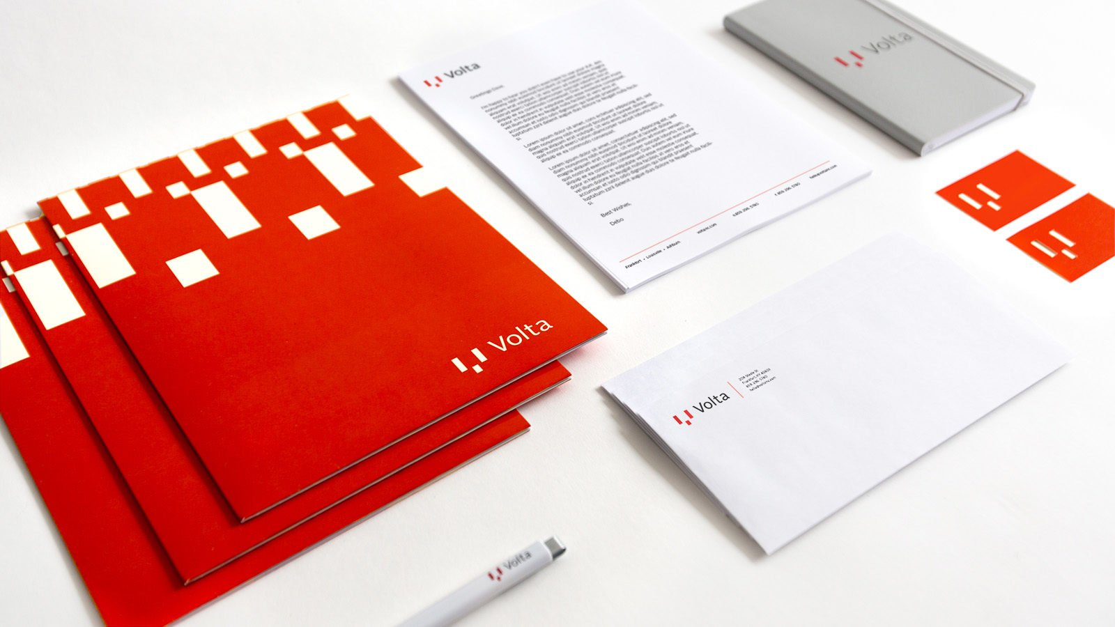 A Brand Identity for Volta Technologies by Bullhorn Creative
