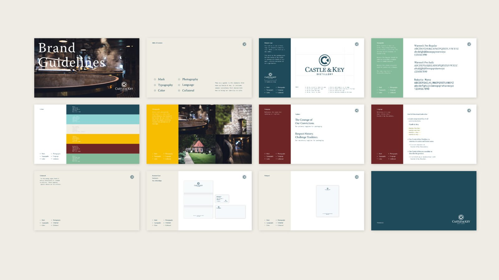 Castle & Key Distillery Brand Guidelines
