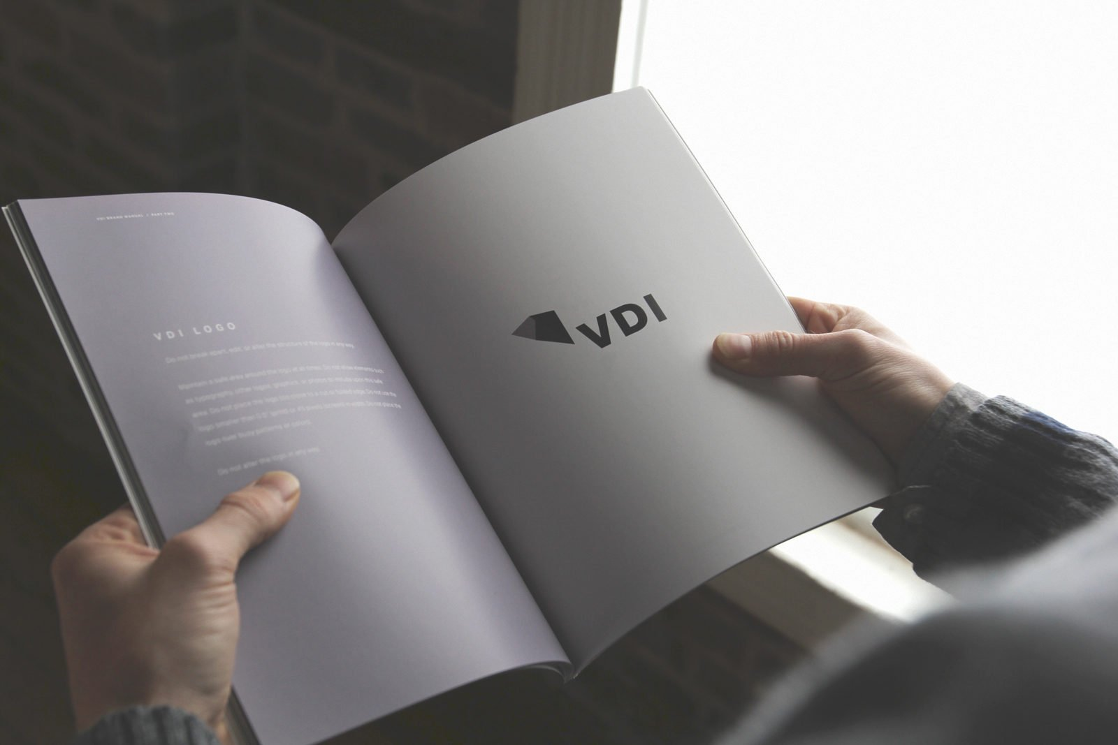 A Brand Identity for VDI by Bullhorn Creative