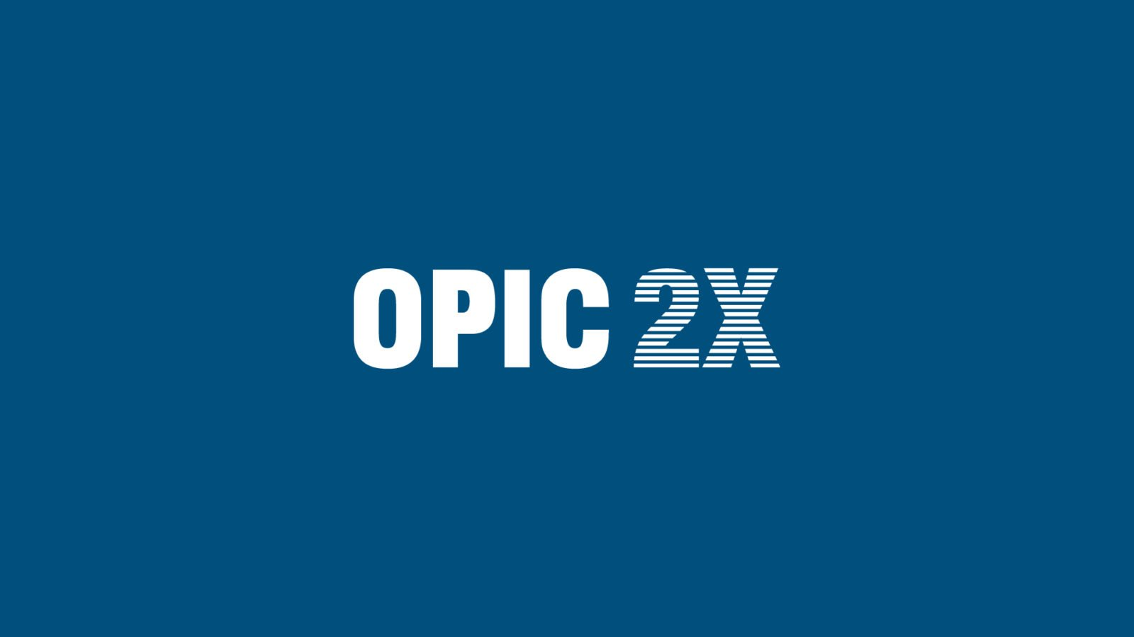 OPIC 2X Program Logo and Naming for US Government Economic Program by Bullhorn