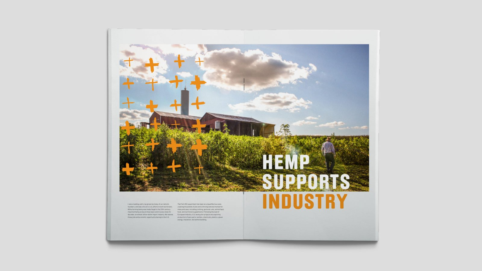 Industrial Hemp Campaign Branding for the US Hemp Roundtable Coalition Booklet