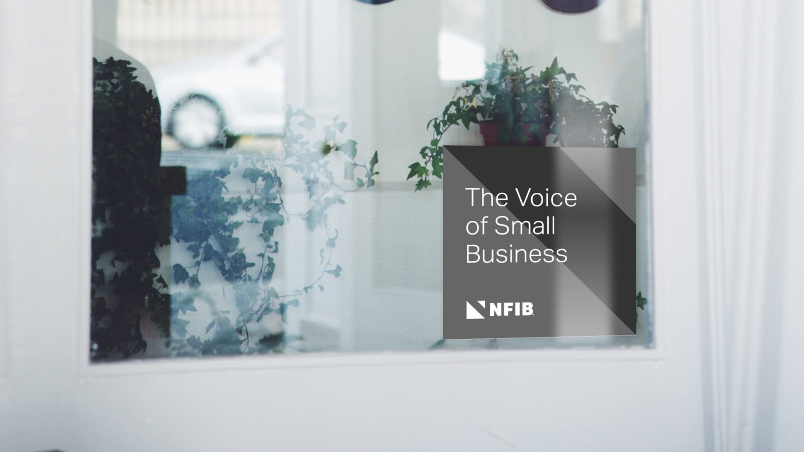 NFIB Independent and Small Business Association Branding and Strategy Members Window Sticker