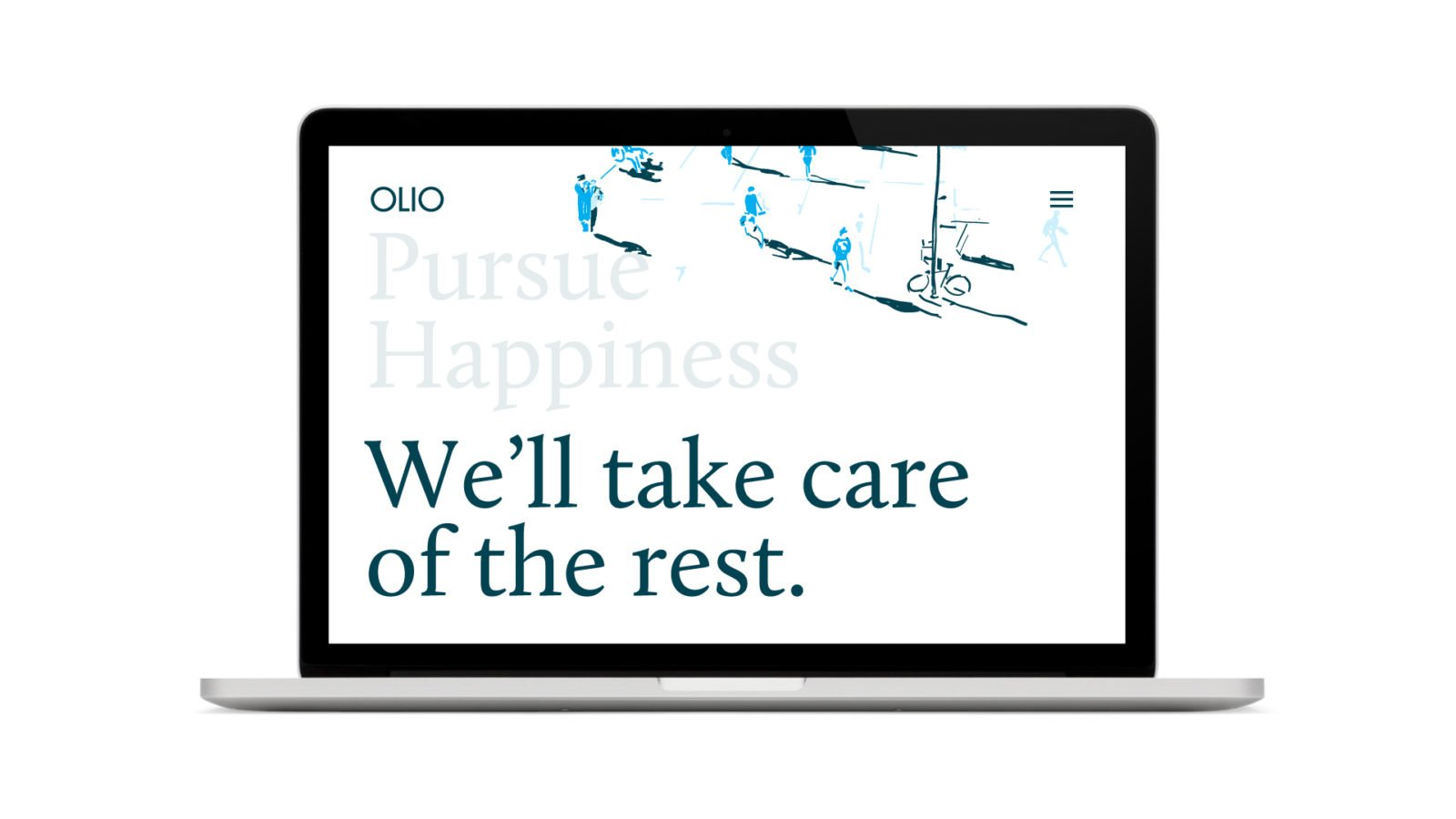 Olio Financial Planning Identity Branding Website Homepage Design