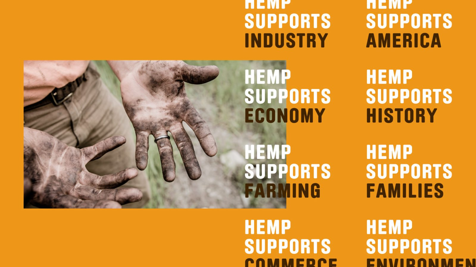 Industrial Hemp Campaign Branding for the US Hemp Roundtable Coalition Case Study
