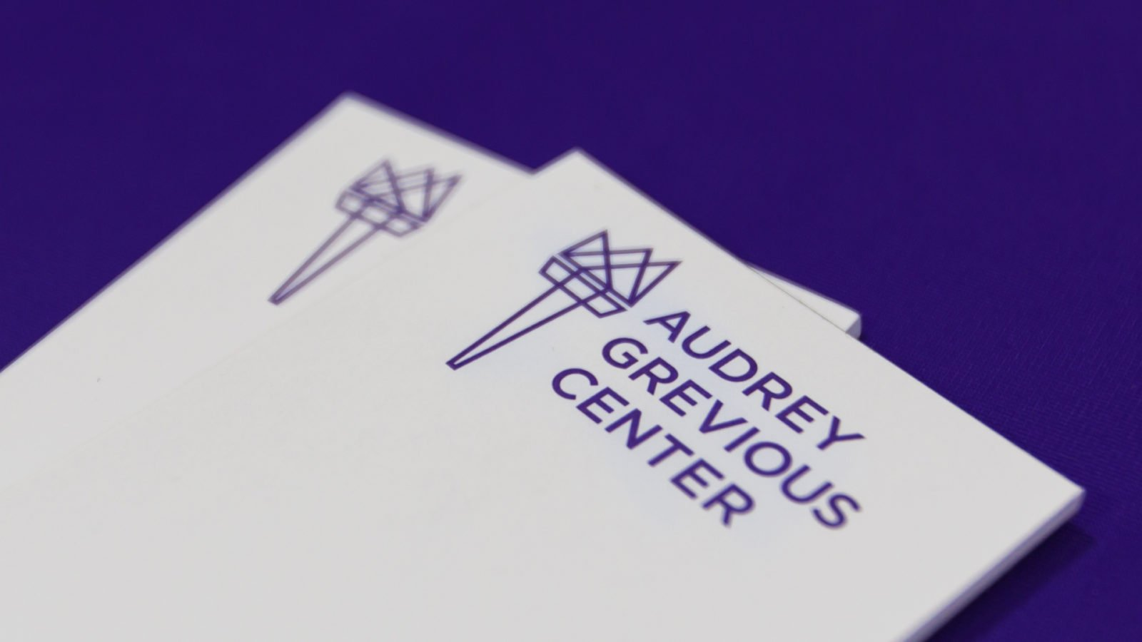 Stationery for the Audrey Grevious Center School