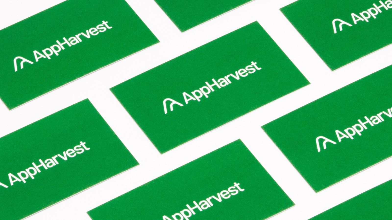 AppHarvest AgTech Greenhouse Branding Stationery
