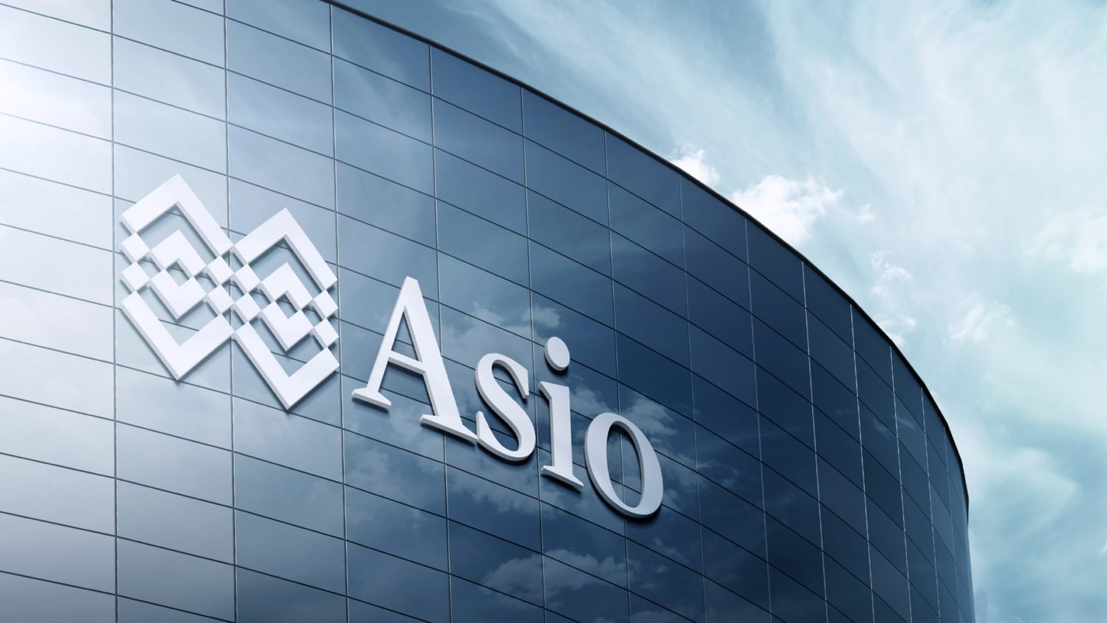 Asio Wealth Management Building Signage